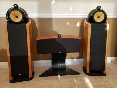 Used Bowers & Wilkins Signature 802 Floorstanding speakers