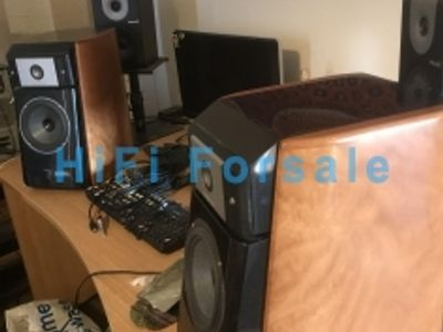 Used Focal Micro Utopia Be Signature Bookshelf speakers for