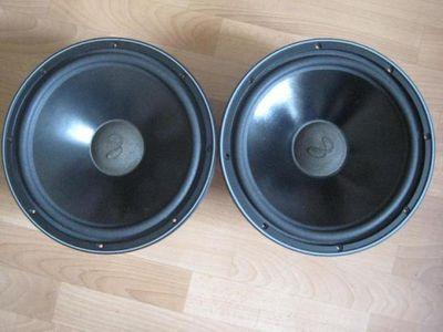 """Infinity SM120 SM122 SM125 12/"""" Woofer Foam Speaker Kit w// Inf Logo Dust Caps!"""