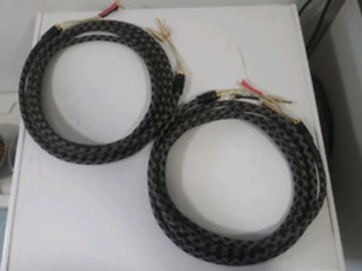 Bananen-Stecker bi-wiring HighEnd Speaker-Kabel Viablue SC-4 Bananas T6s