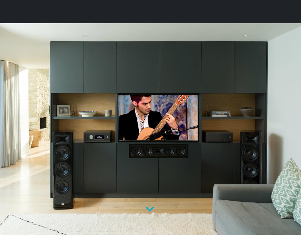 Arcam homepage