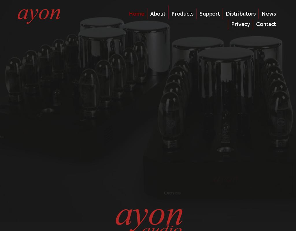 Ayon homepage