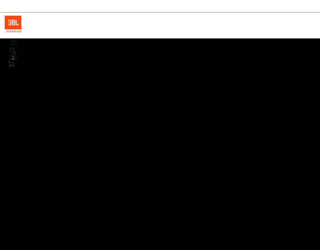 JBL homepage