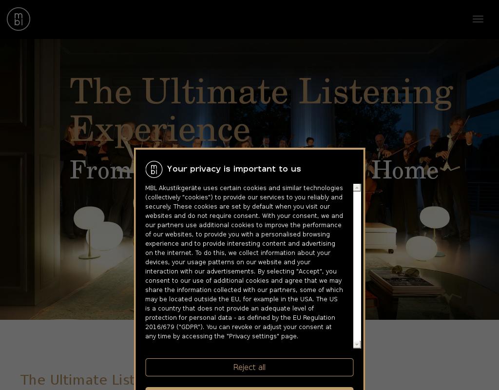 MBL homepage