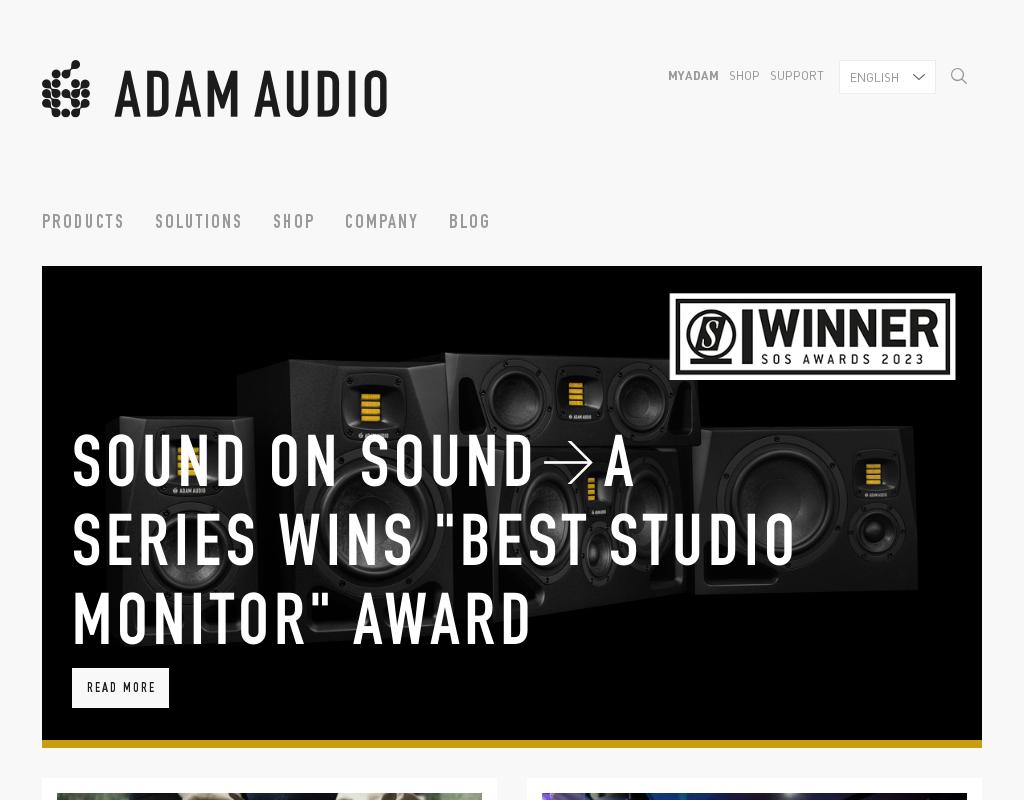 ADAM homepage
