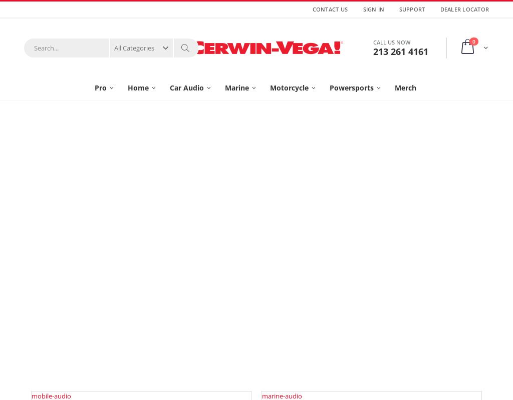 Cerwin-Vega homepage