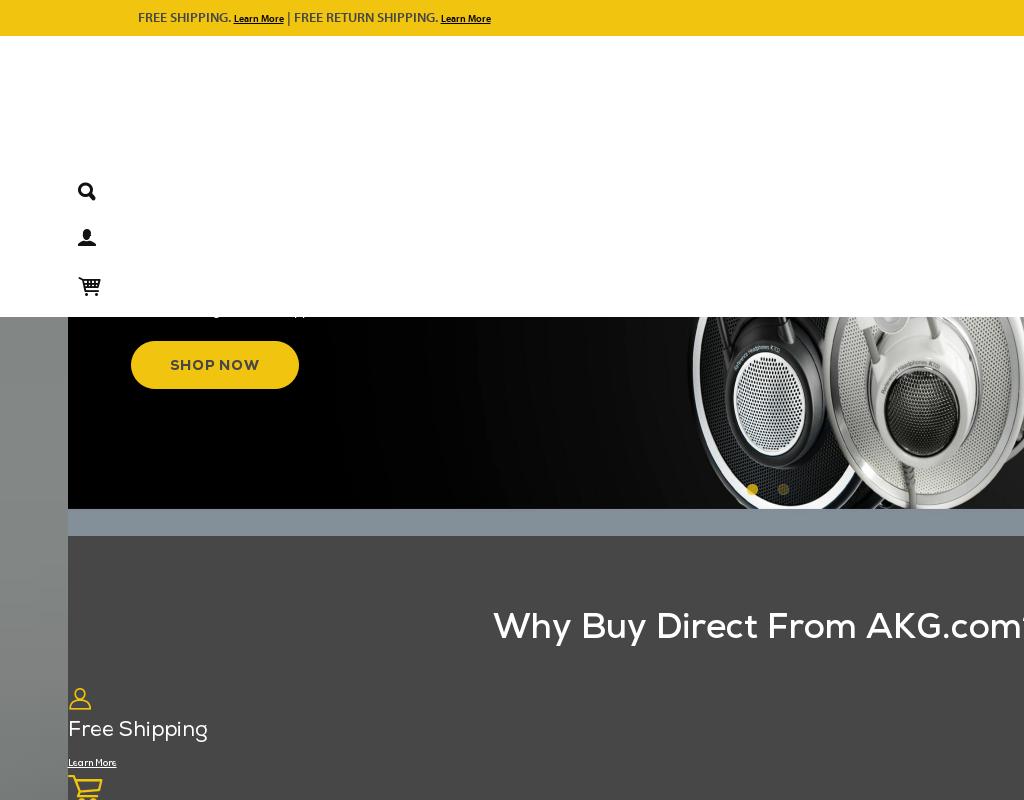 AKG homepage