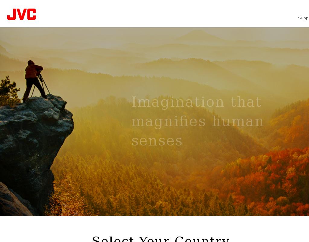JVC homepage